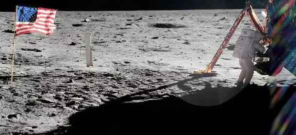the-only-picture-of-neil-armstrong-on-the-moon